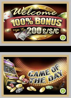 Hippozino Casino Welcome Bonus