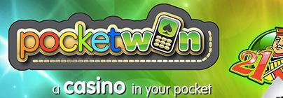 Roulette Mobile Casino Games | £5 & £100 FREE PocketWin Bonus!
