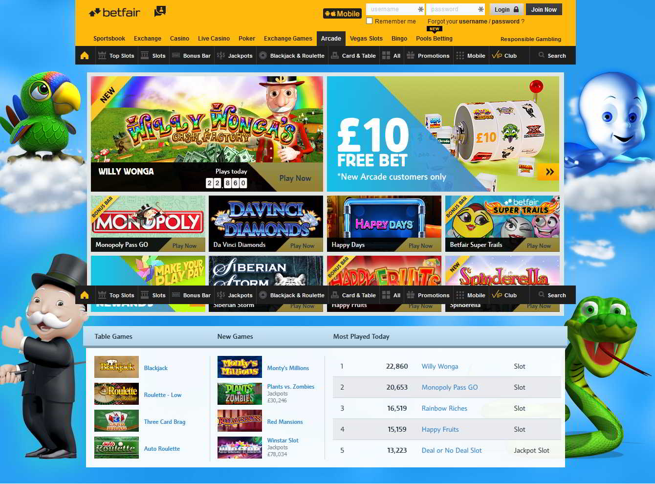 Betfair casino how to use free spins