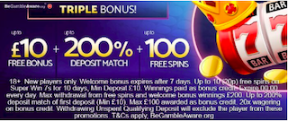 mFortune new casino signup bonus