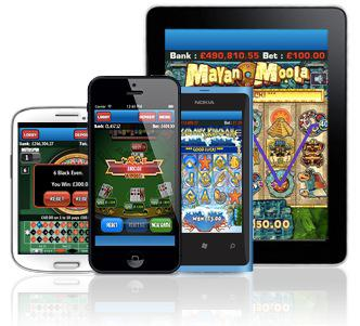 LadyLucks Mobile Casino Games